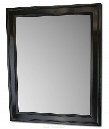 Black picture frame a173
