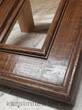 Brown distressed mirror frame