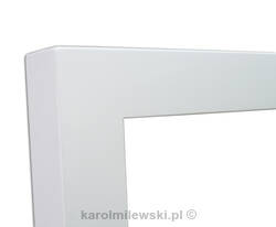 White picture frame 2'' x 2''