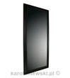 Mirror in black frame 70cm x 130cm