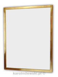 Gold gilded picture frame