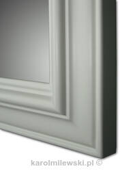 Picture frame A112 white wax