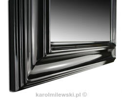 Mirror in black frame 290