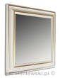 Mirror in white frame