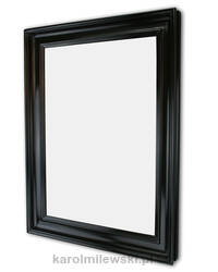 Black gesso picture frame